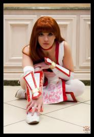 Kasumi from Dead or Alive 4 worn by Holly Gloha