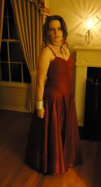 Aeris / Aerith Gainsborough from Final Fantasy VII worn by CCGreyWitch