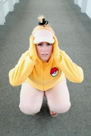 Psyduck from Pokemon worn by JadeKat