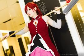Ky&#333;ko Sakura from Madoka Magica worn by Artemis Moon