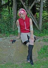 Sakura Haruno from Naruto Shippūden worn by Artemis Moon