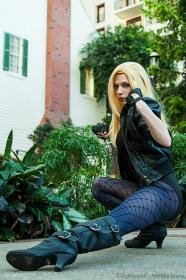 Black Canary from DC Comics worn by Artemis Moon