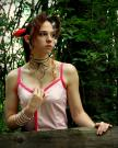 Aeris / Aerith Gainsborough from Kingdom Hearts worn by Artemis Moon