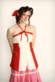 Aeris / Aerith Gainsborough from Kingdom Hearts 2 worn by Artemis Moon