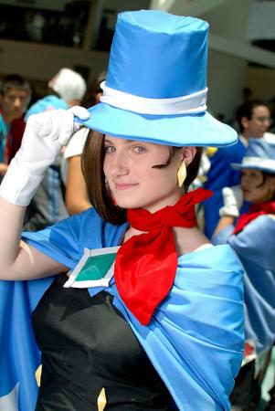Trucy Wright from Apollo Justice: Ace Attorney worn by Ukraine