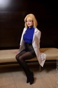 Ritsuko Akagi from Neon Genesis Evangelion worn by Ukraine