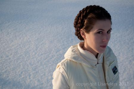Princess Leia Organa from Star Wars Episode 5: The Empire Strikes Back