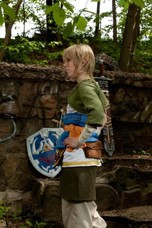 Link from Legend of Zelda: Twilight Princess worn by BloodyPirate