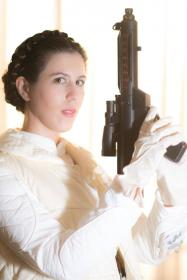 Princess Leia Organa from Star Wars Episode 5: The Empire Strikes Back by BloodyPirate