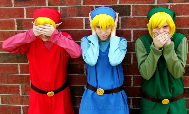 Link Four Swords Cosplay Link from Legend of Zelda