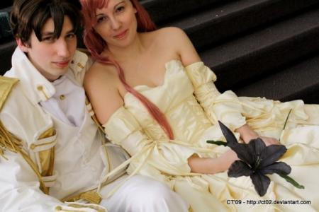 Euphemia Li Britannia from Code Geass worn by Mazoku