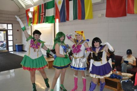 Sailor Moon from Sailor Moon Seramyu Musicals worn by Mazoku