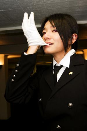 Sebastian Michaelis from Black Butler worn by LuffyXII