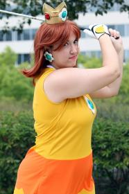 Princess Daisy from Super Mario Brothers Series worn by Yucari