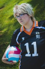 Tsukishima Kei from Haikyuu!! worn by Yucari
