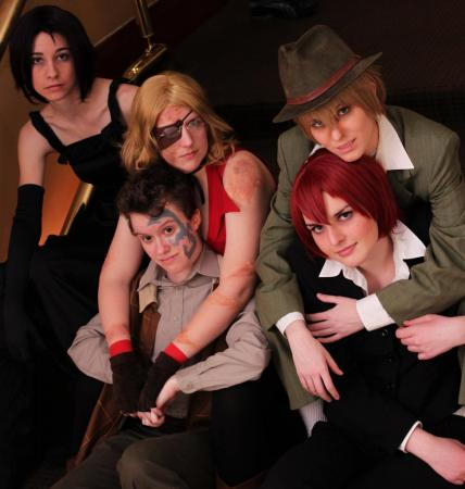 Ennis from Baccano! worn by Devious Tofu