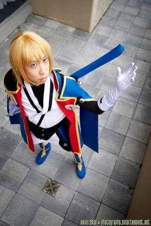Jin Kisaragi from BlazBlue: Calamity Trigger