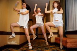 Gangnam Style Background Dancer