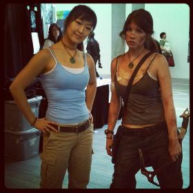 Lara Croft from Tomb Raider worn by Crystalike