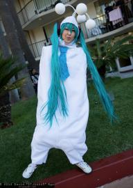 Hatsune Miku from Vocaloid 2 worn by Crystalike