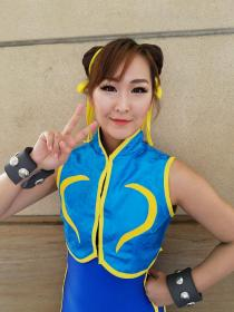 Chun Li from Street Fighter Alpha worn by Crystalike