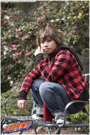 Tsunayoshi Sawada from Katekyo Hitman Reborn! worn by Akira