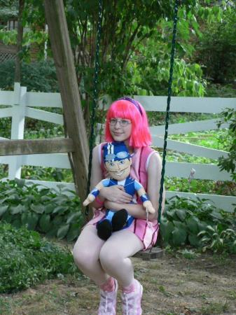 Stephanie from Lazy Town worn by Enny