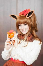 Vulpix from Pokemon worn by Tenjou
