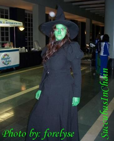 Wicked Witch of the West from Wizard of Oz, The worn by Succubus In Chains