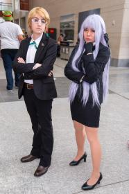 Kyoko Kirigiri from Dangan Ronpa worn by Striderian
