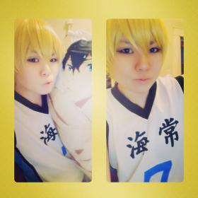 Ryota Kise from Kuroko's Basketball worn by Striderian