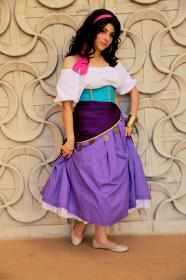 Esmeralda from Hunchback of Notre Dame worn by GoddessofFlash