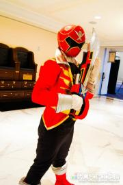 Gokai Red / Captain Marvelous from Kaizoku Sentai Gokaiger worn by RJ Para