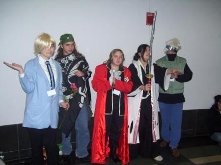 Edward Elric from Fullmetal Alchemist worn by Piper Chan