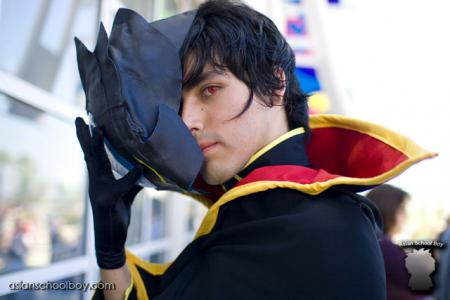 Lelouch Lamperouge from Code Geass worn by Lisu
