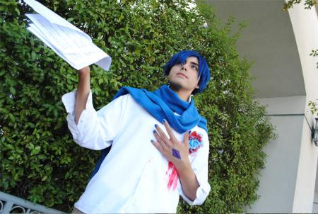 Kaito from Vocaloid worn by Lisu