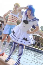 Stocking from Panty and Stocking with Garterbelt worn by HAMBURG