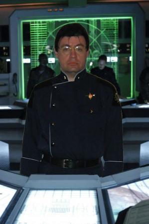Admiral Adama from Battlestar Galactica