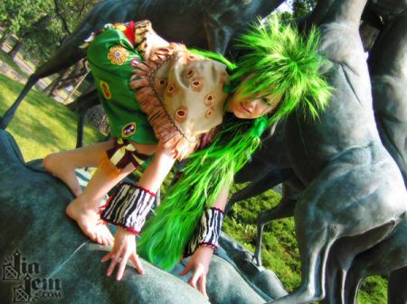 Gau from Final Fantasy VI worn by Jia Jem