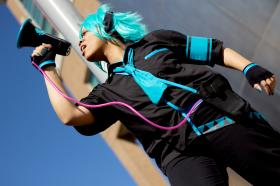 Hatsune Mikuo from Vocaloid 2  by celsius