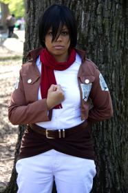 Mikasa Ackerman from Attack on Titan worn by celsius