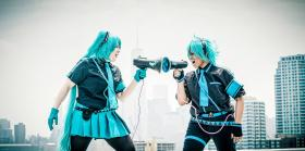 Hatsune Mikuo from Vocaloid 2