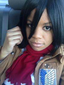 Mikasa Ackerman from Attack on Titan by celsius