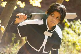 Kirito from Sword Art Online worn by celsius