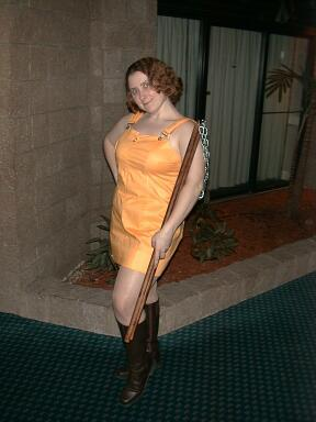 Selphie Tilmitt from Final Fantasy VIII worn by Emmy-chan
