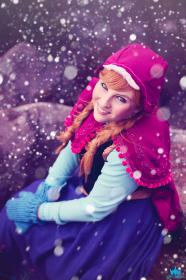 Anna from Frozen  by Ichigo_m
