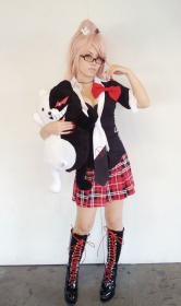 Junko Enoshima from Dangan Ronpa worn by evilium