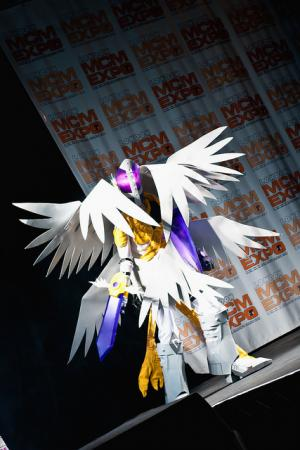 Holy Angemon from Digimon Adventure 02