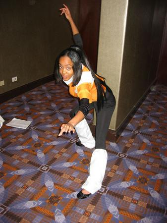 Yoruichi Shihouin from Bleach worn by Lovely Lei