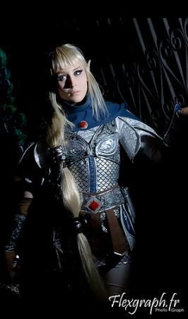 High Elf Shadow Warrior from Warhammer Online worn by Nikita